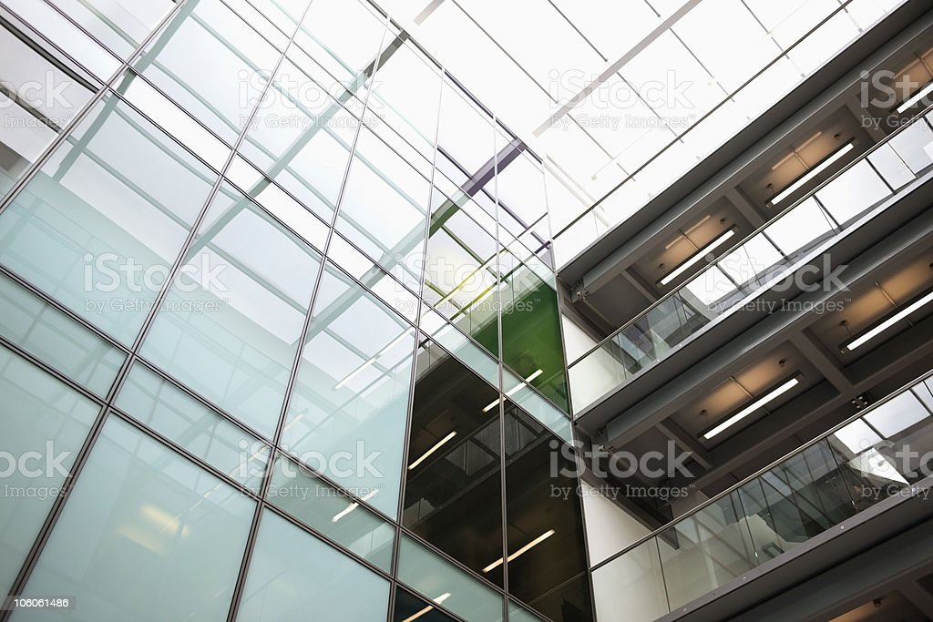 Modern office buildings royalty-free stock photo