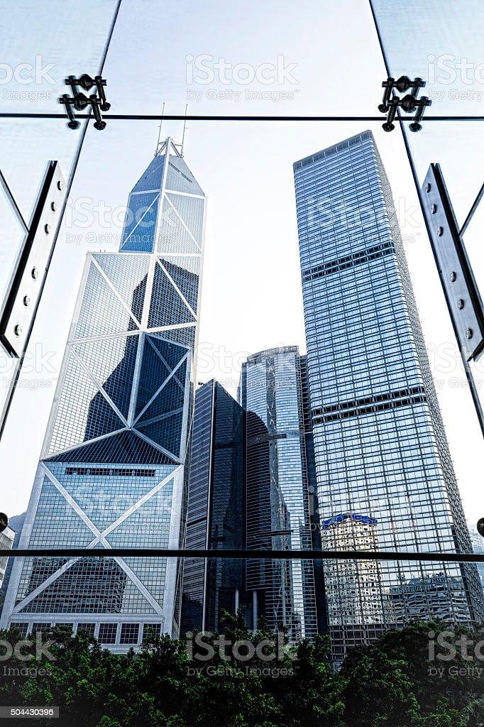 Modern Office Buildings stock photo