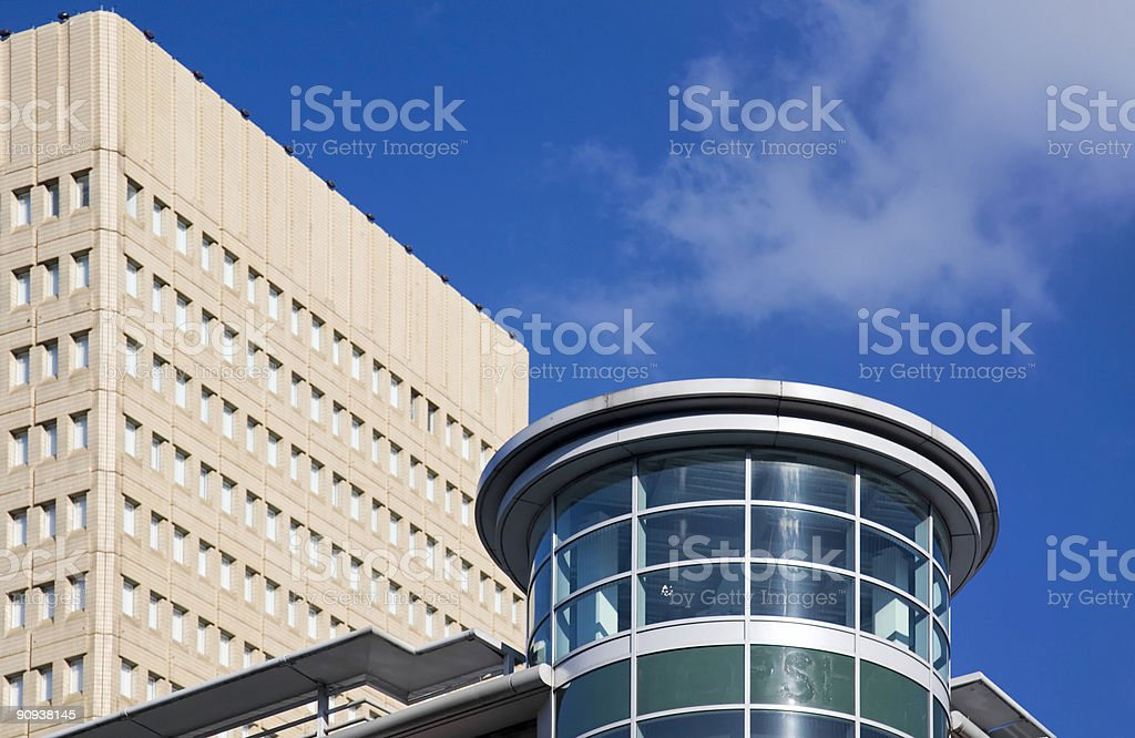 Modern Office Buildings-More architecture below royalty-free stock photo