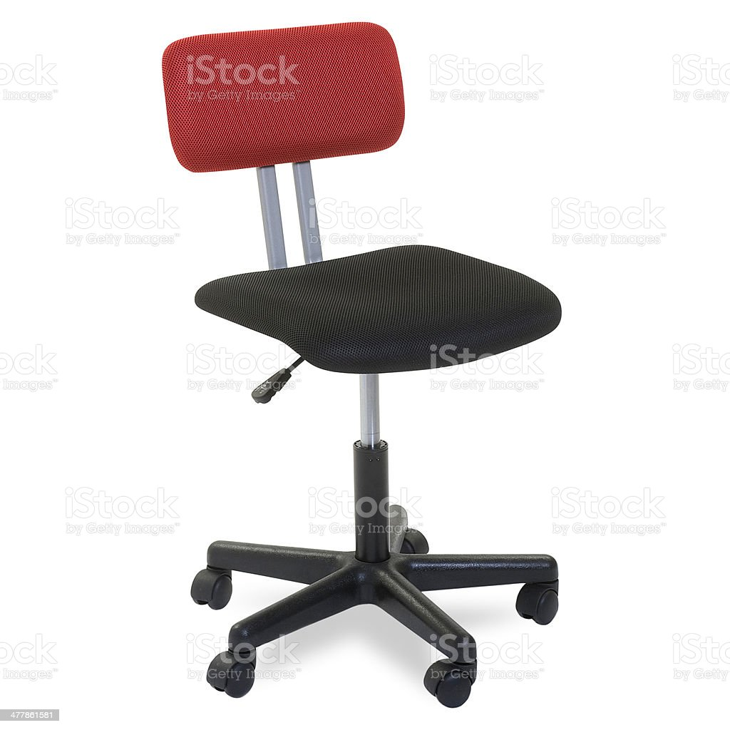Modern Office chair Isolated royalty-free stock photo