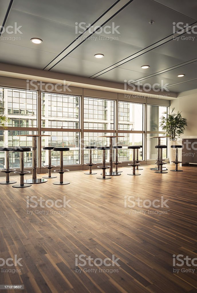 Modern Office Coffee Area royalty-free stock photo