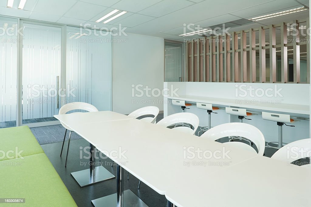 Modern Office Conference Table stock photo