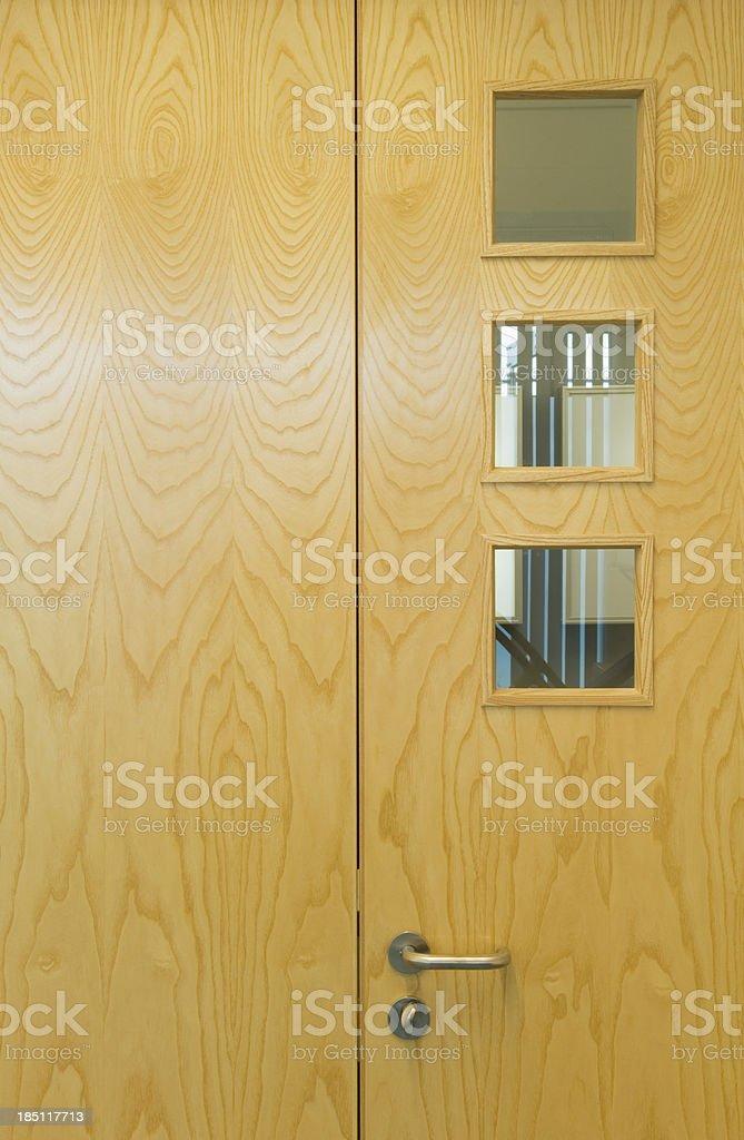 Modern office door stock photo