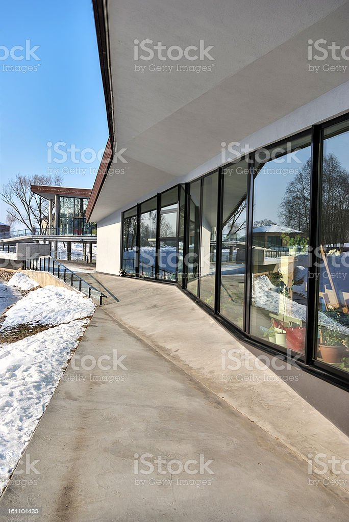 Modern office. Exterior royalty-free stock photo