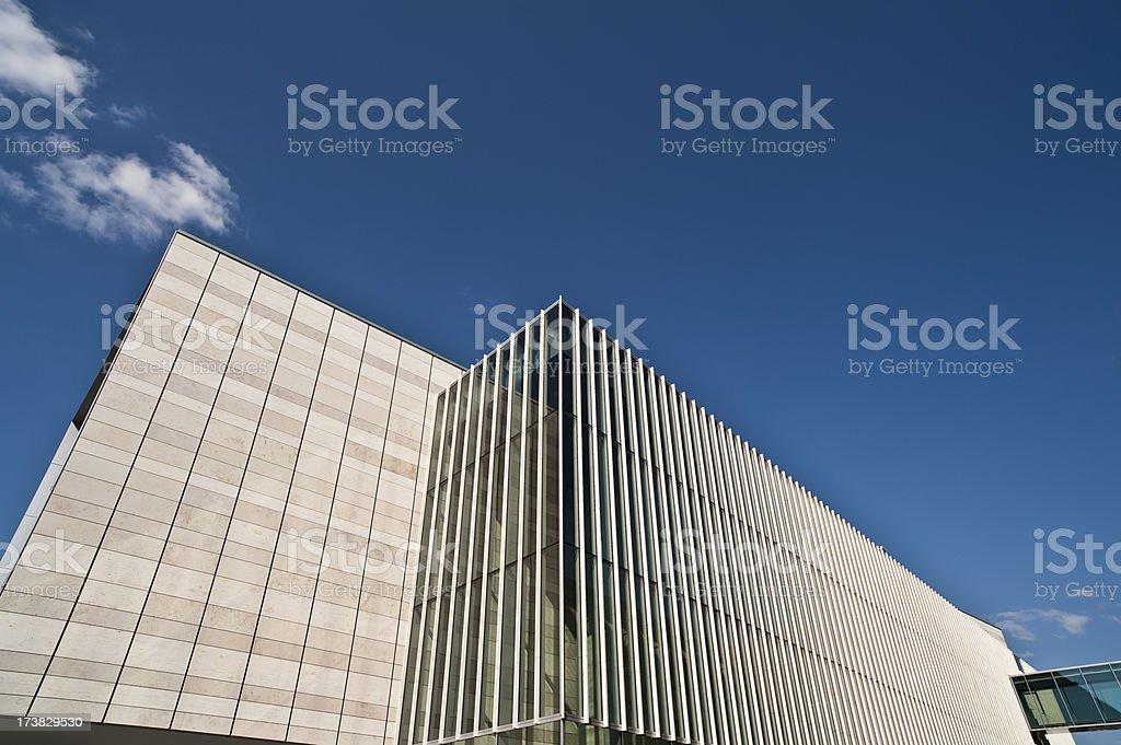 Modern office facade stock photo