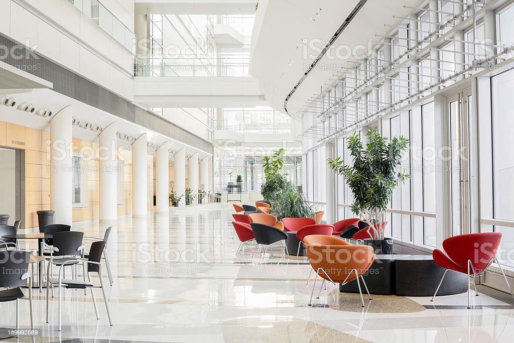 Modern Office Lobby stock photo
