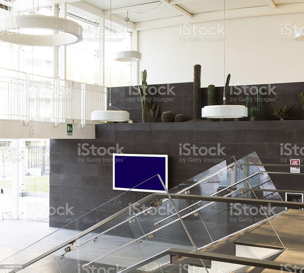 Modern Office Lobby royalty-free stock photo