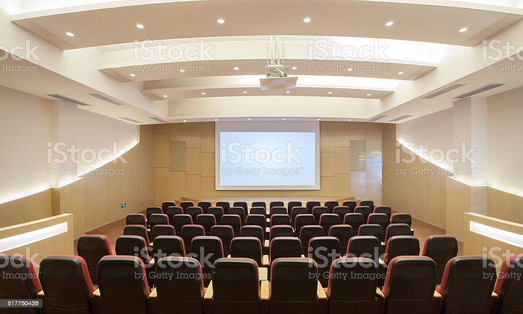Modern office meeting room stock photo