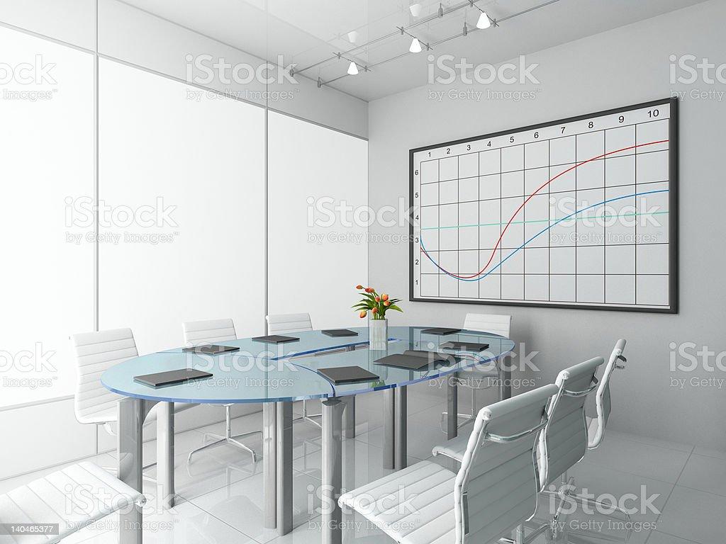 Modern office. royalty-free stock photo