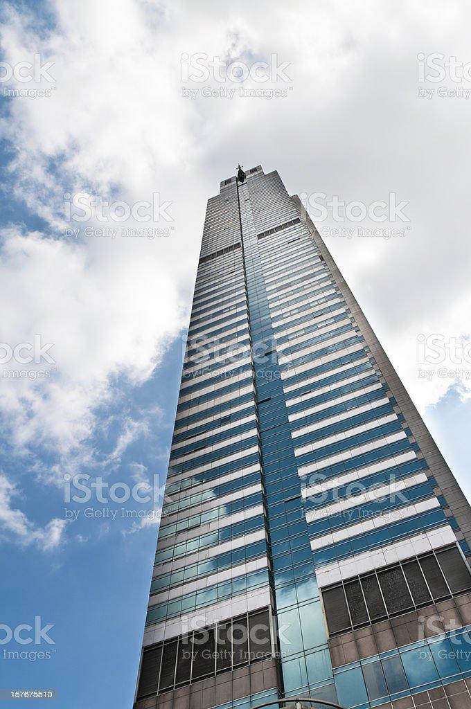 Modern Office Skyscraper In Bangkok, Thailand royalty-free stock photo