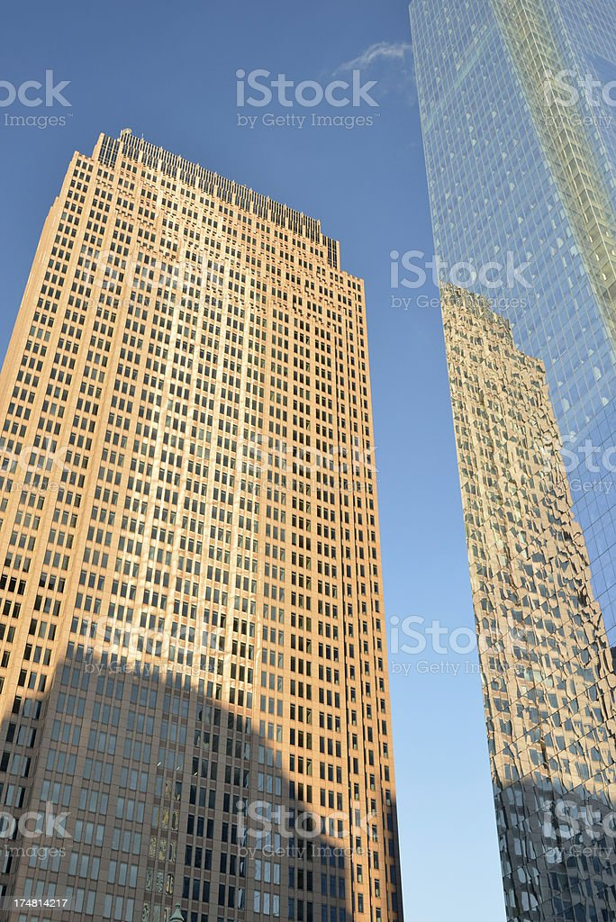 Modern Office Towers in Philadelphia royalty-free stock photo