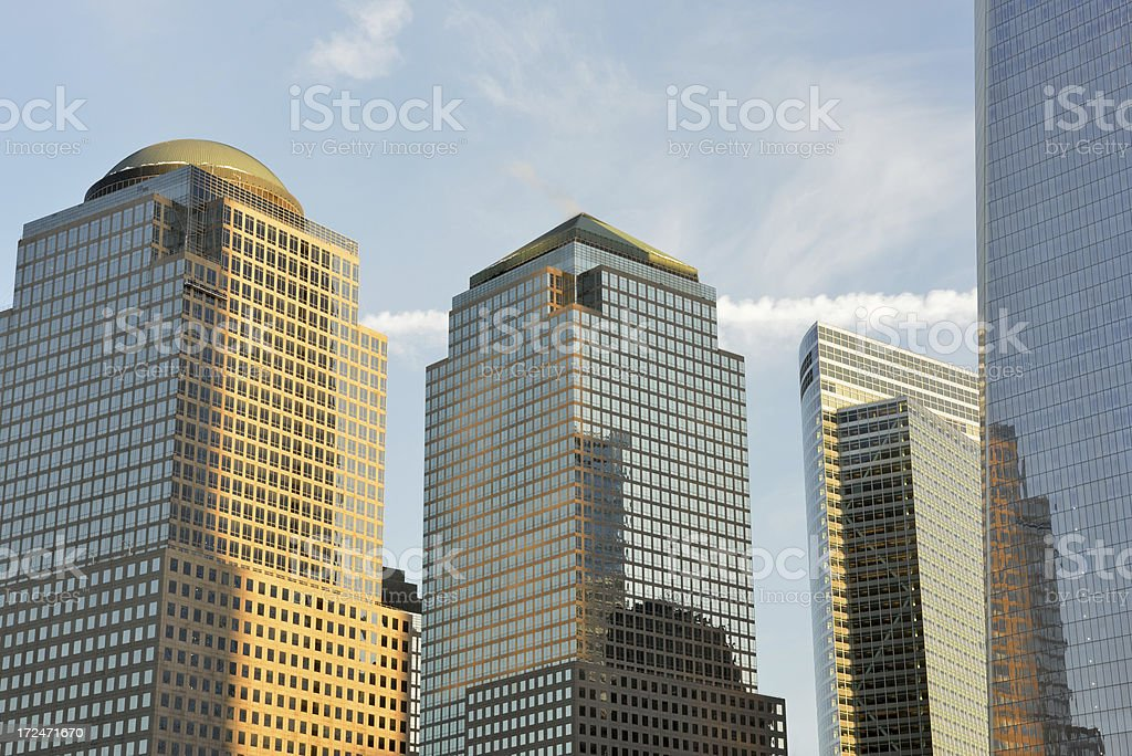 Modern Office Towers royalty-free stock photo