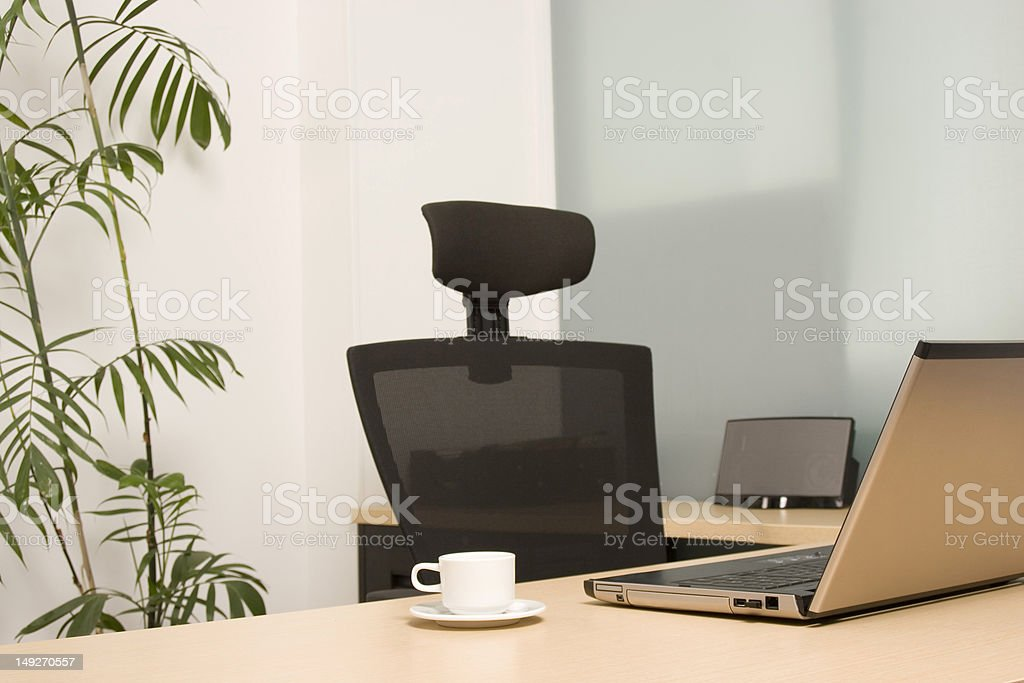 Modern Office, Workplace royalty-free stock photo