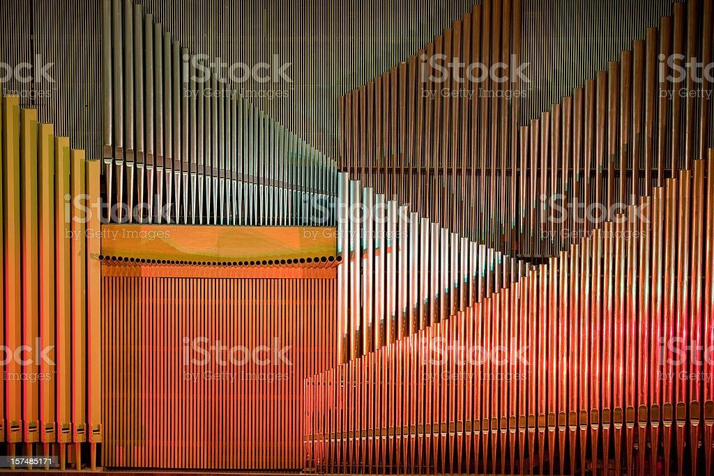 Modern organ stock photo