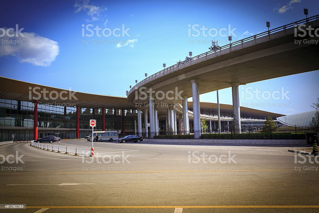 Modern overpasses Architecture royalty-free stock photo