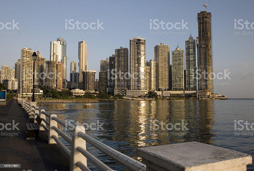 Modern Panama City royalty-free stock photo