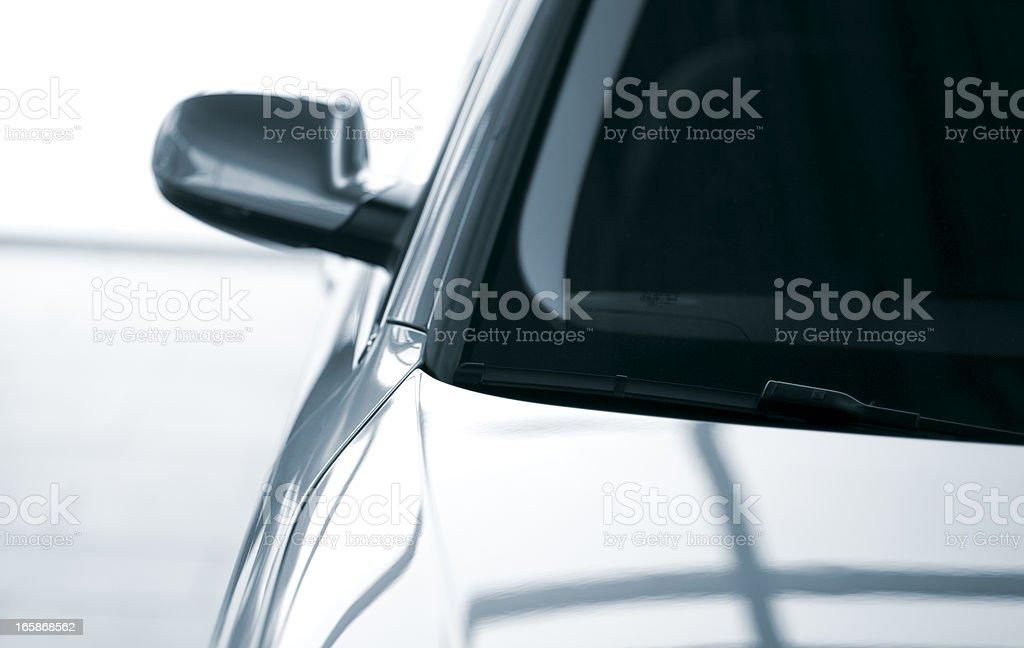 Modern parking car stock photo
