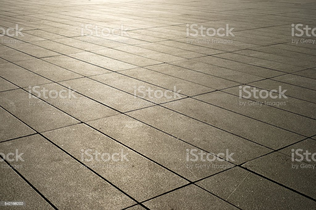 Modern pavement in brown tone royalty-free stock photo