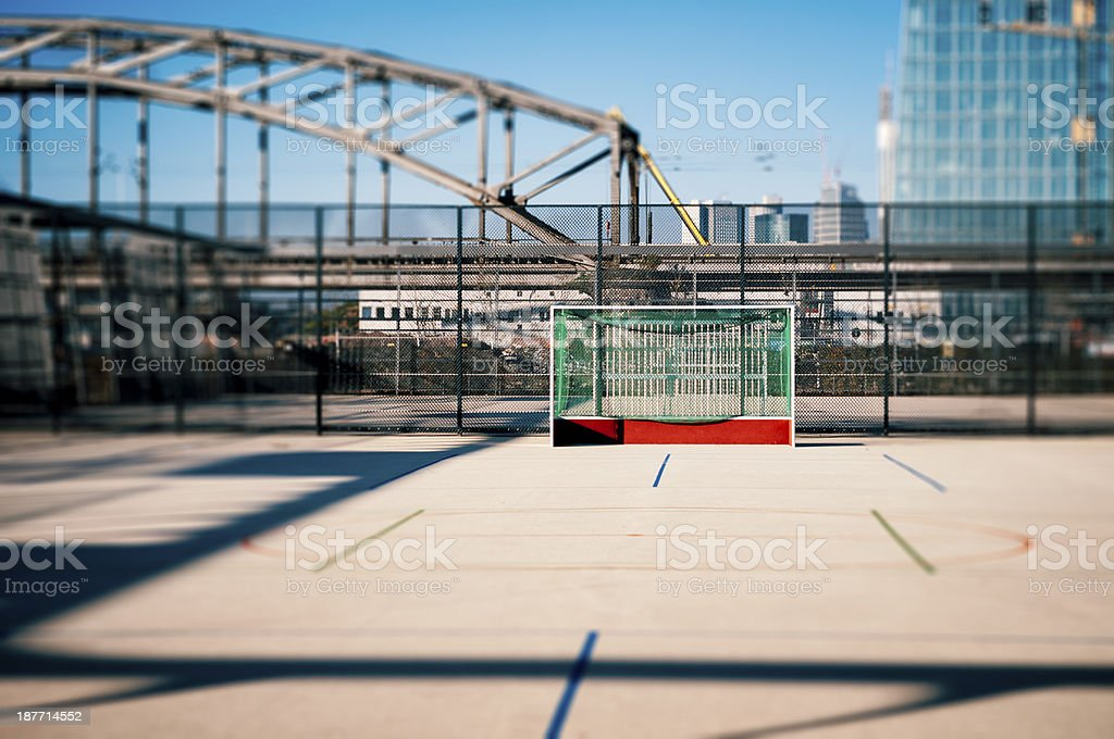 Modern playing field royalty-free stock photo