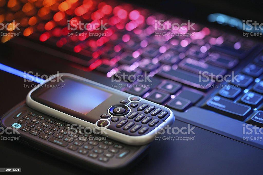 Modern Portable Communications royalty-free stock photo