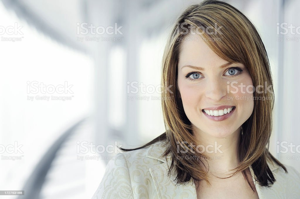 modern professional businesswoman stock photo
