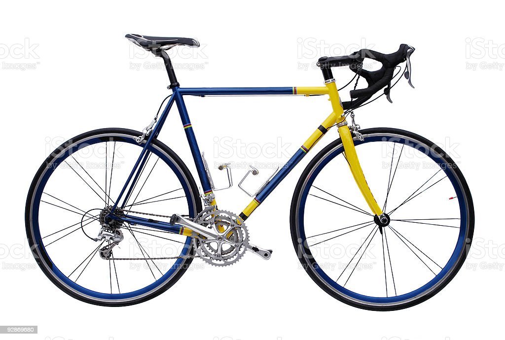 Modern Racing Bike stock photo