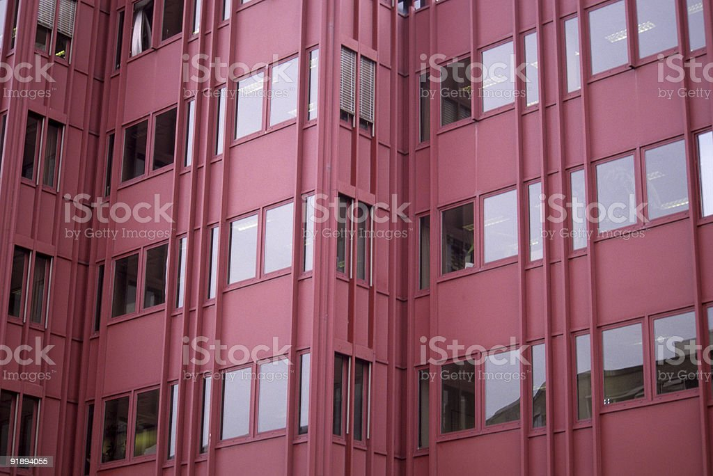 Modern Red Office Building royalty-free stock photo
