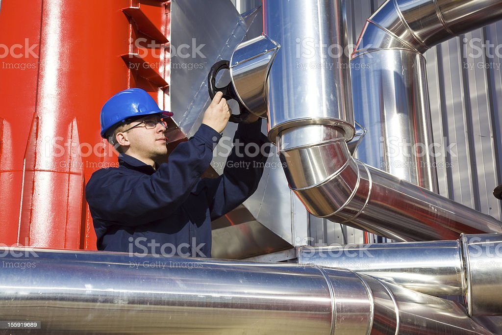 Modern Refinery royalty-free stock photo