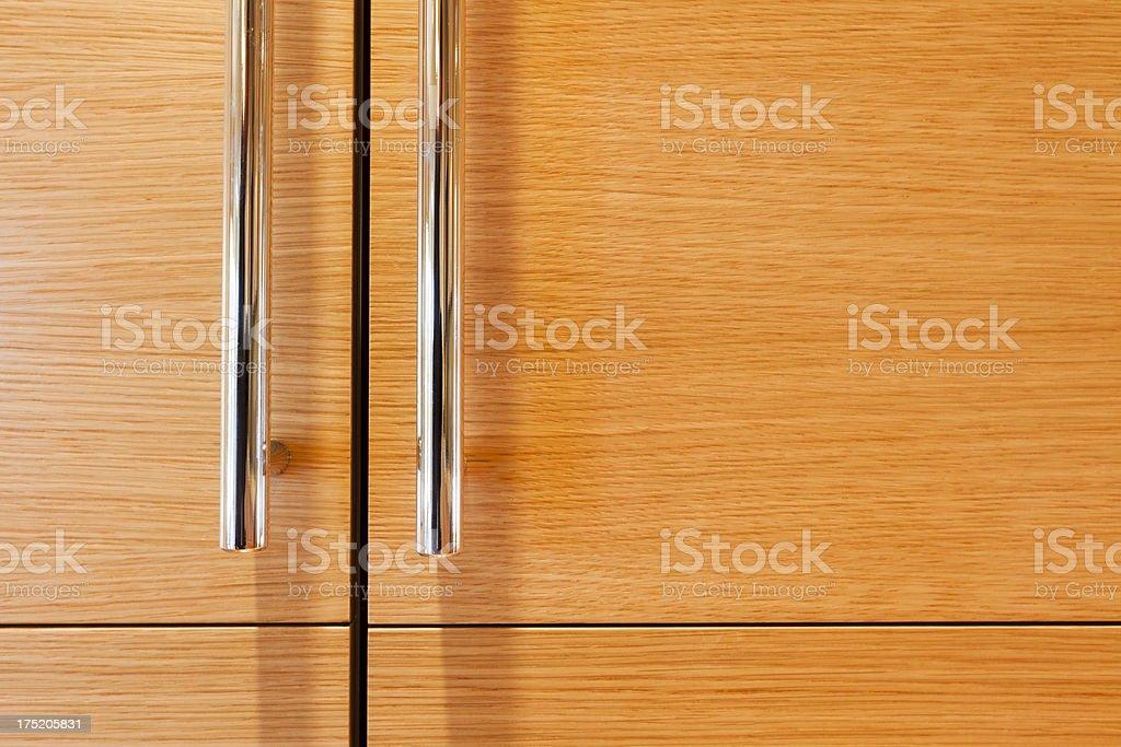 Modern Refrigerator Close-up stock photo
