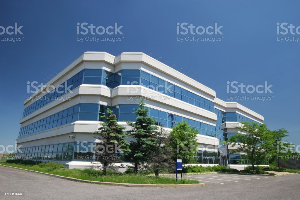 Modern Research Center Building royalty-free stock photo