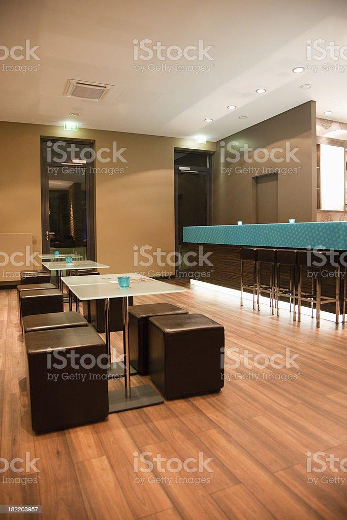 Modern Restaurant Bar royalty-free stock photo