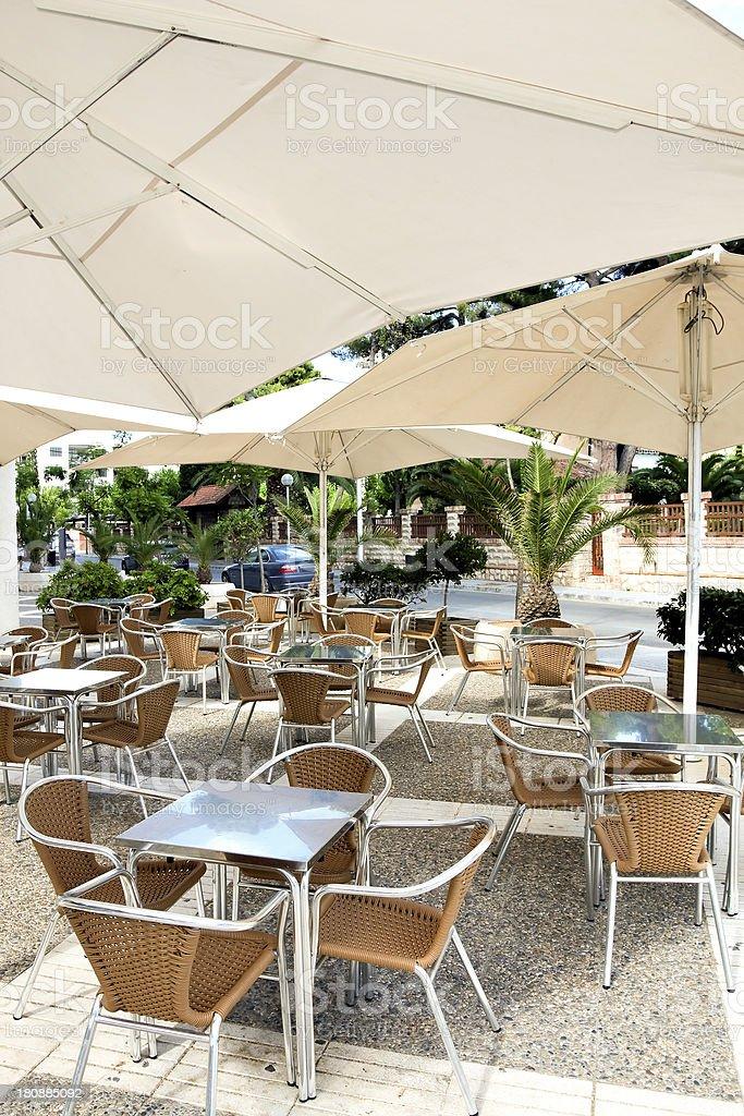 modern restaurant outdoor royalty-free stock photo