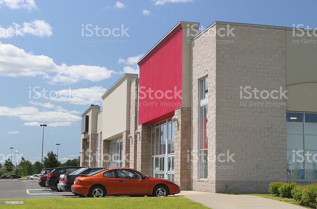 Modern Retail Businesses stock photo