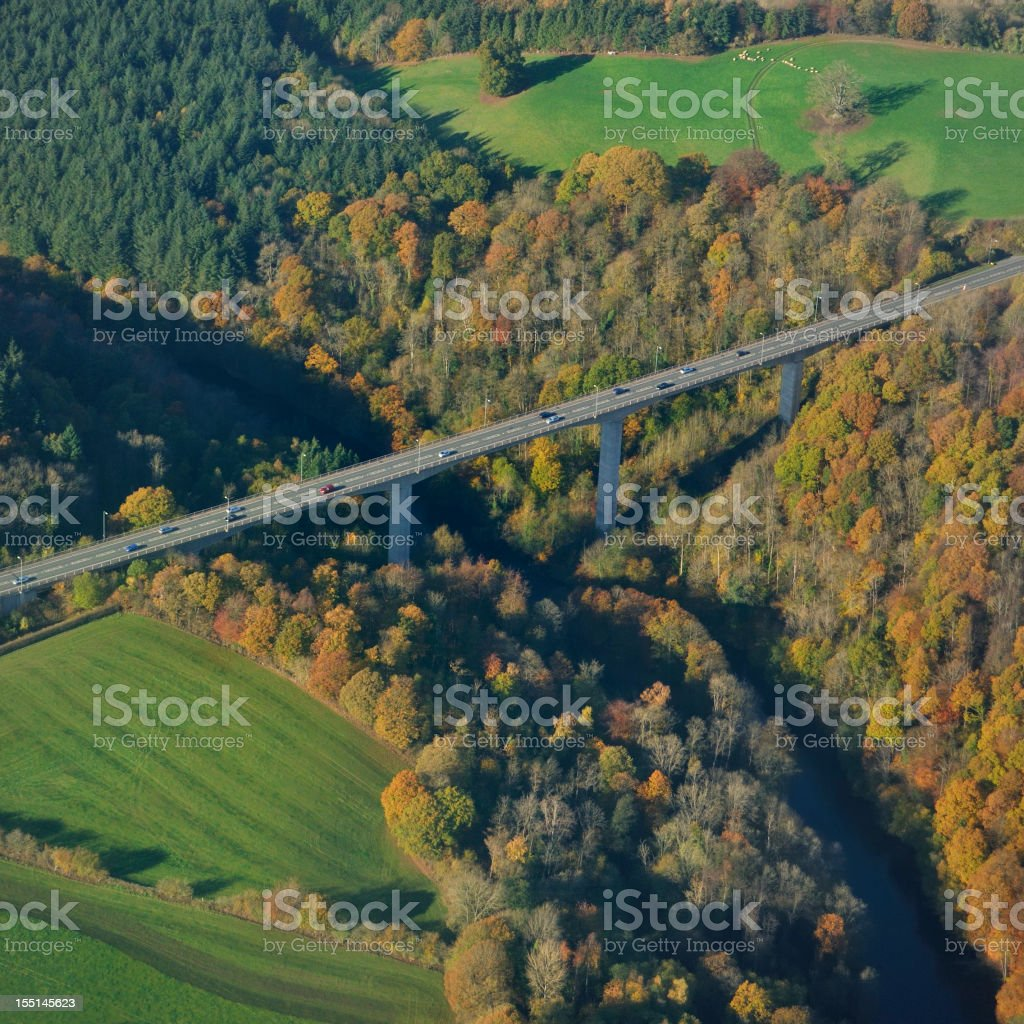 Modern Road Bridge royalty-free stock photo