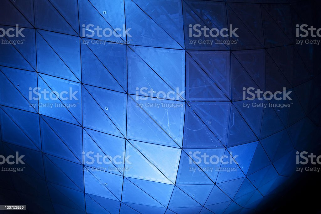 modern roof construction royalty-free stock photo