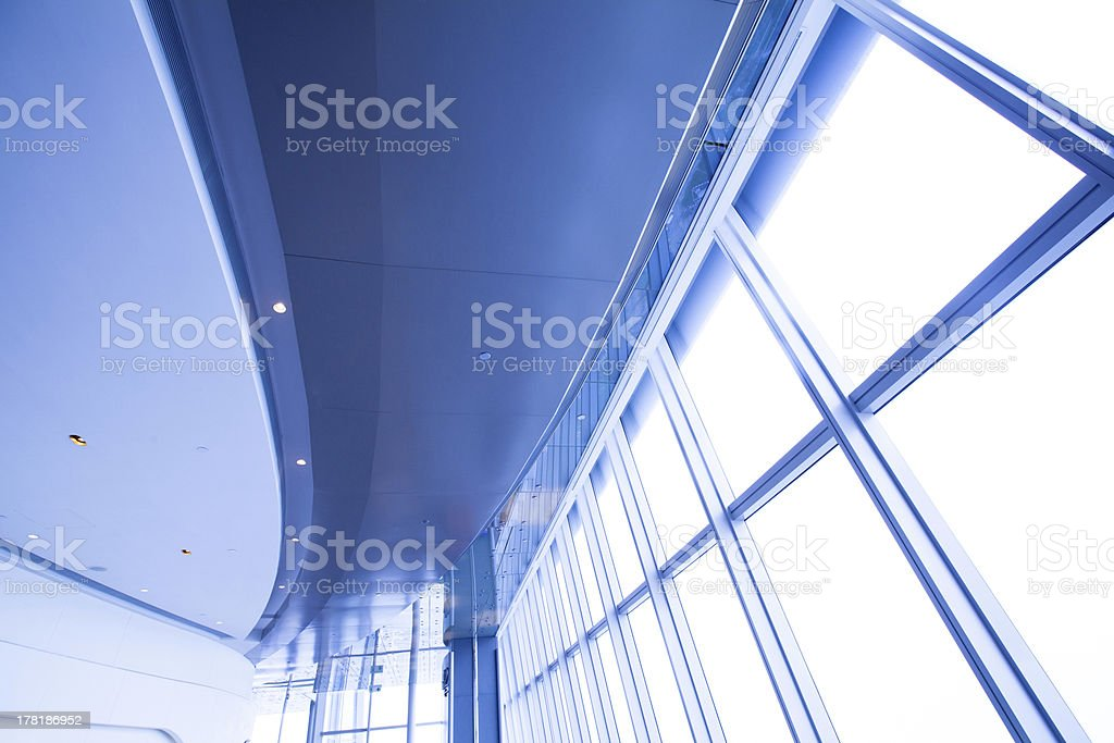 modern roof stock photo