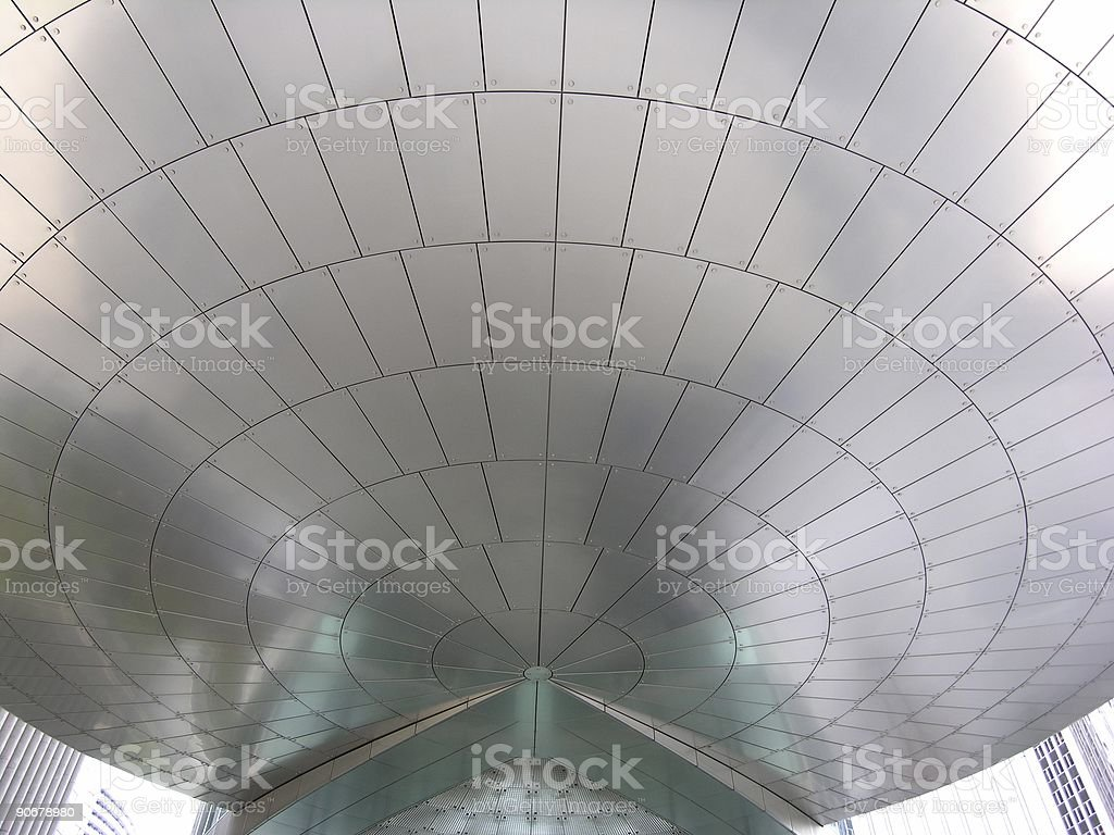 Modern Roof royalty-free stock photo