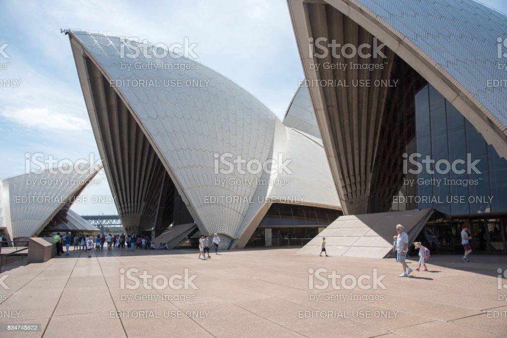 Modern Rooftop: Sydney Opera House stock photo