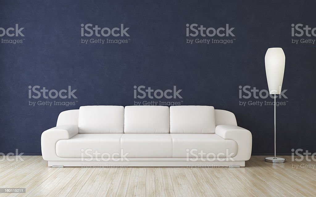 Modern Room Interior royalty-free stock photo