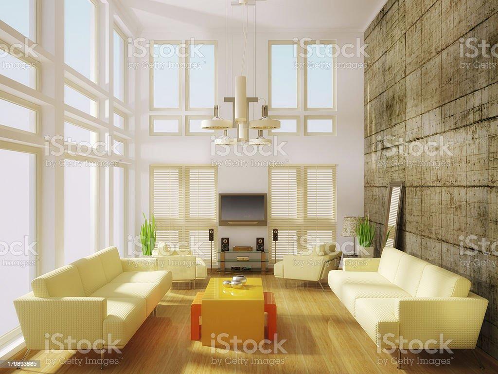 modern room royalty-free stock photo