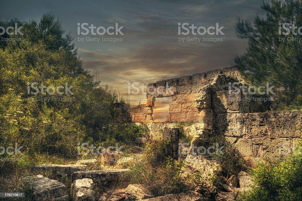 Modern ruin royalty-free stock photo