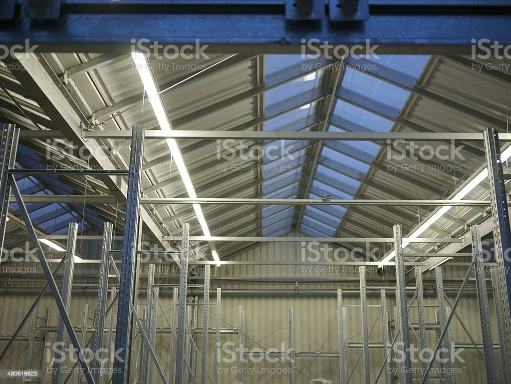 modern scaffold royalty-free stock photo
