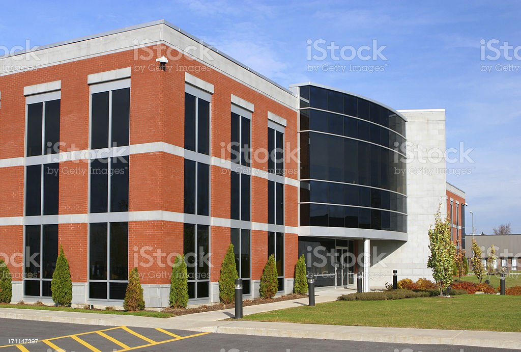 Modern Scientific Institute royalty-free stock photo