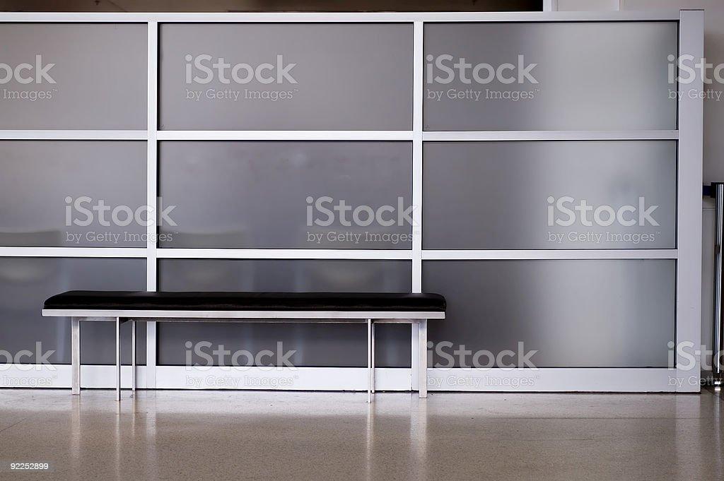 Modern Seating royalty-free stock photo