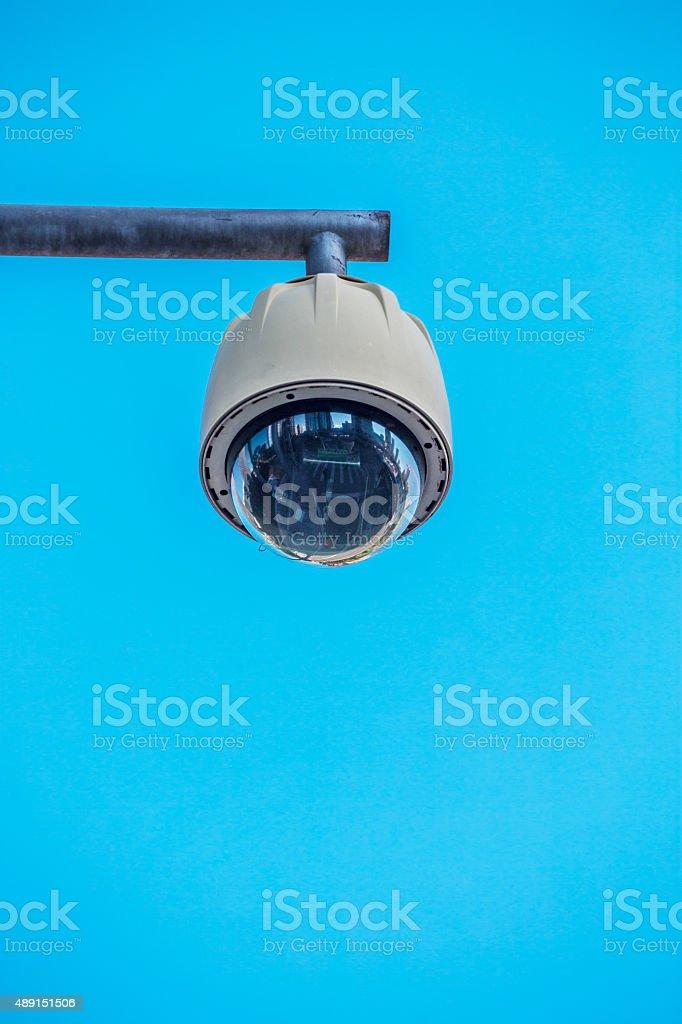 Modern Security Camera stock photo