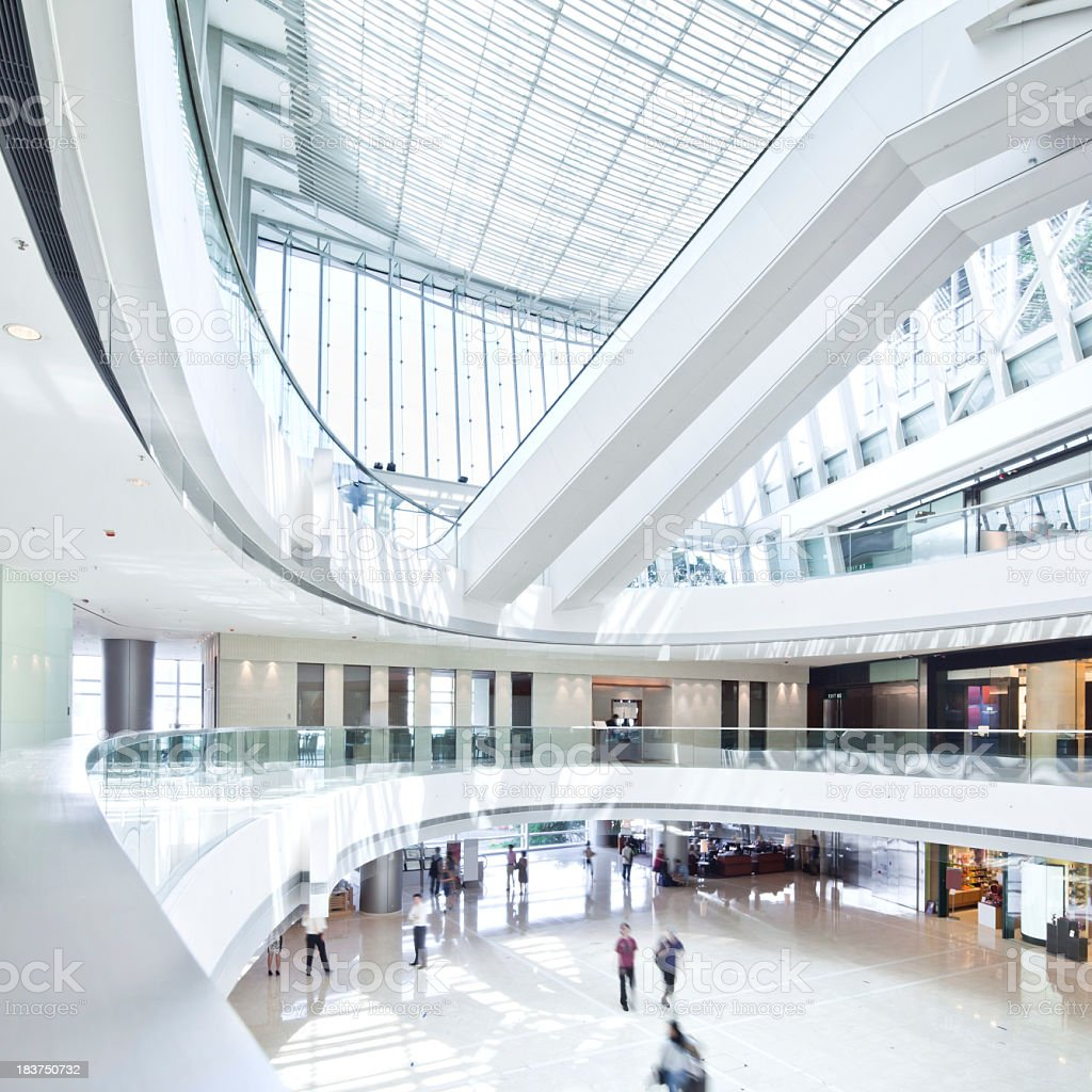 Modern Shopping Mall stock photo