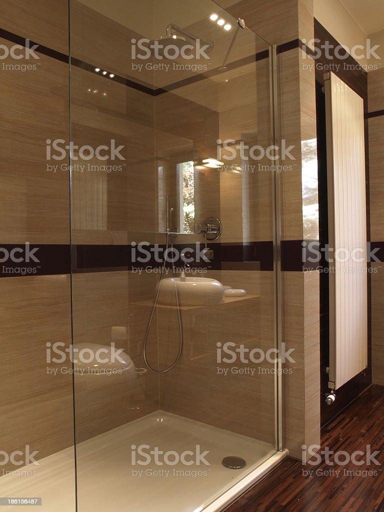 Modern shower royalty-free stock photo