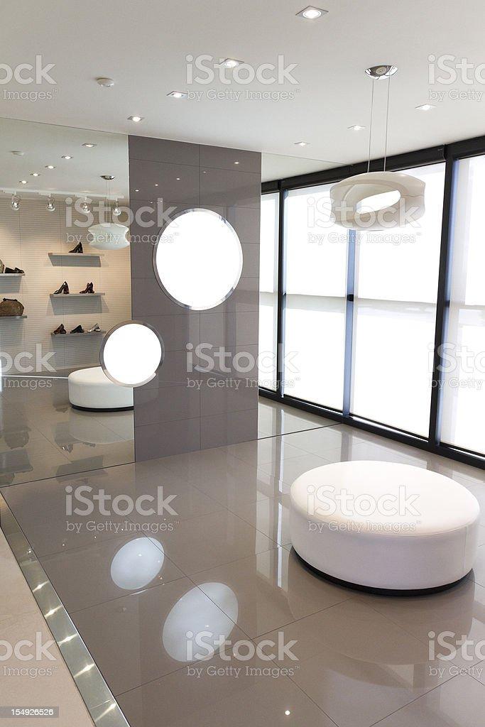 Modern showroom royalty-free stock photo