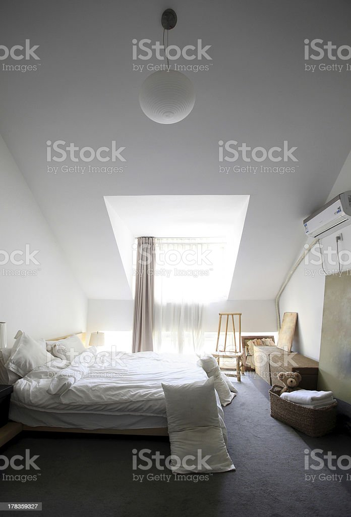 Modern simplicity of the house royalty-free stock photo
