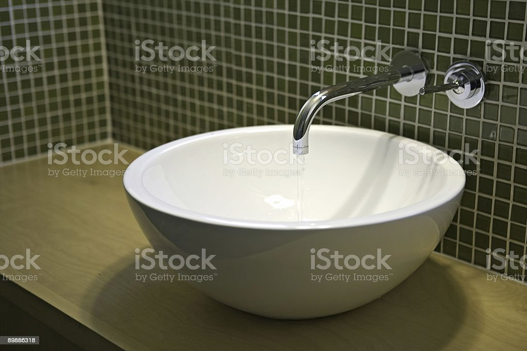 Modern Sink royalty-free stock photo